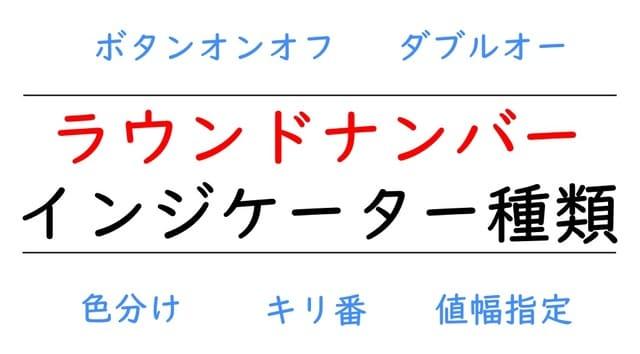 キリ番(ラウンドナンバー)MT4無料インジケーター